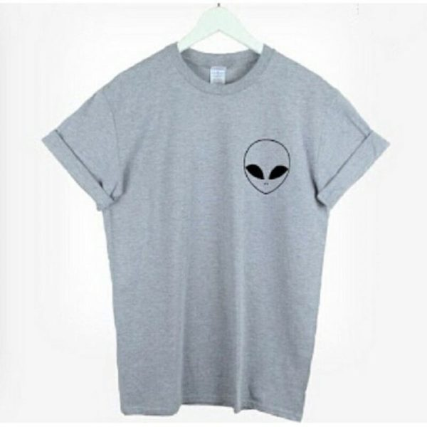 Alien Face Graphic Tee 2
