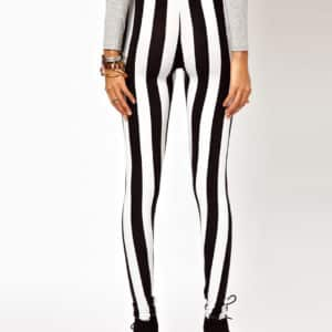 Vertical Striped Leggings 3