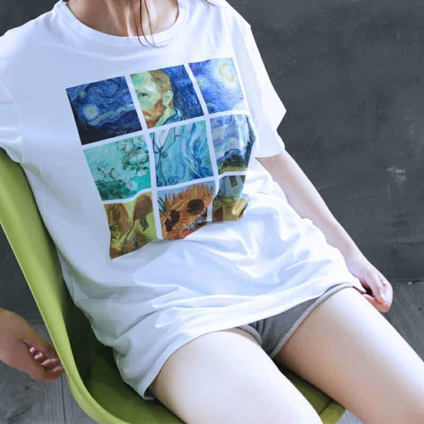 Van Gogh Paintings Graphic Tee 4