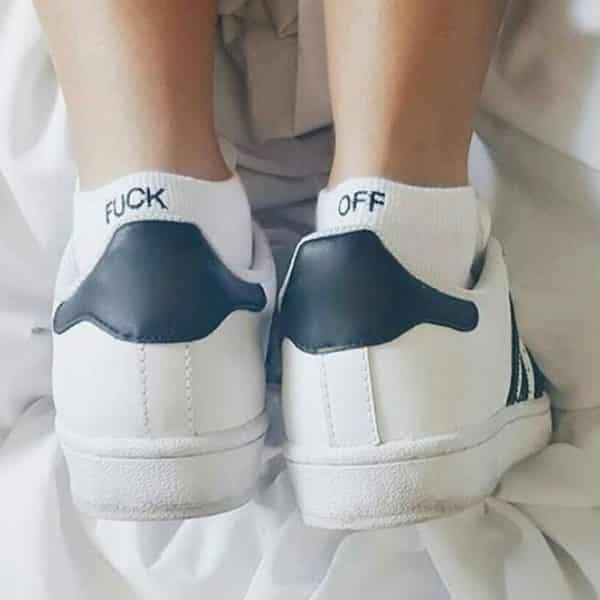 F--k Off Ankle Socks 1