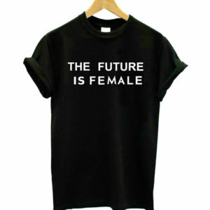 """The Future is Female"" Black & White T-Shirt"