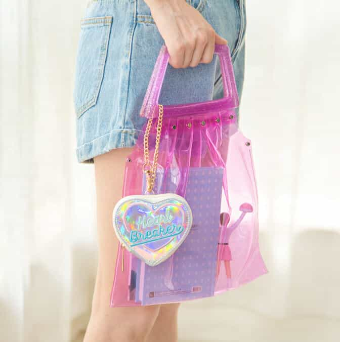 Heart Breaker Holographic Coin Purse 2