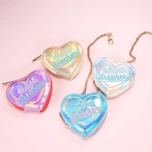 Heart Breaker Holographic Coin Purse 3