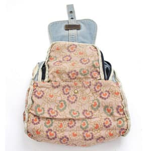 Vintage Denim Backpack 3
