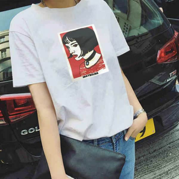 Mathilda Portrait Tee 1