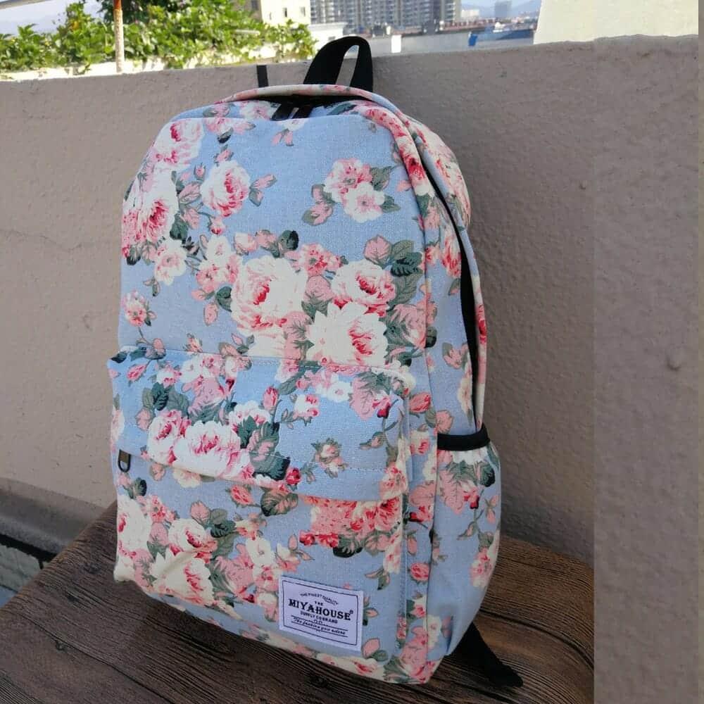 Floral Backpacks 3