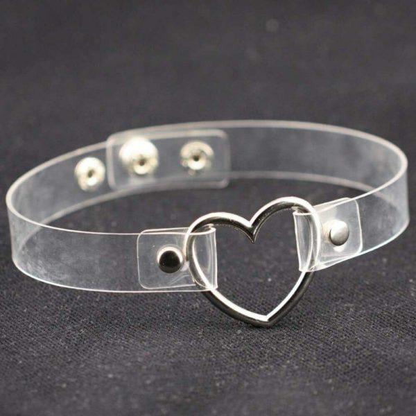 Transparent Ring Choker 2