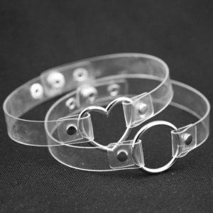 Transparent Ring Choker