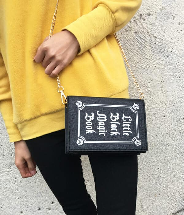 Little Black Magic Book Shoulder Bag 2