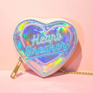 Heart Breaker Holographic Coin Purse 4