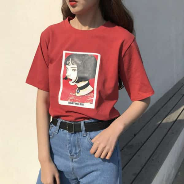 Mathilda Portrait Tee