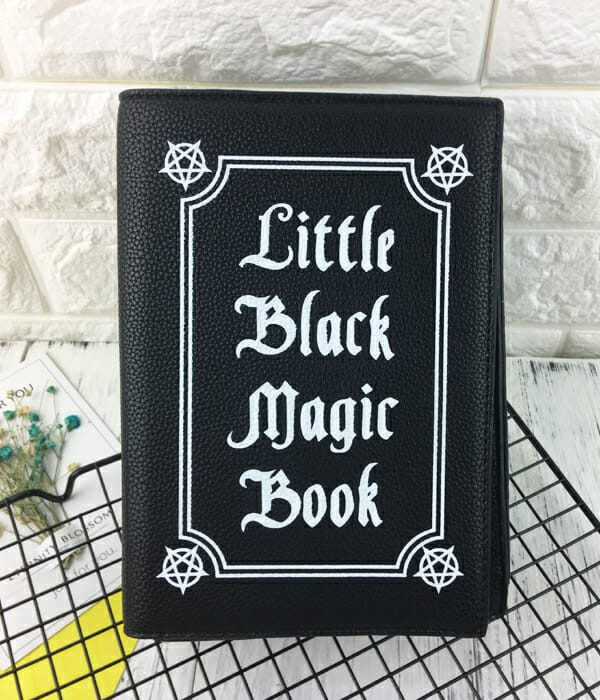 Little Black Magic Book Shoulder Bag 1