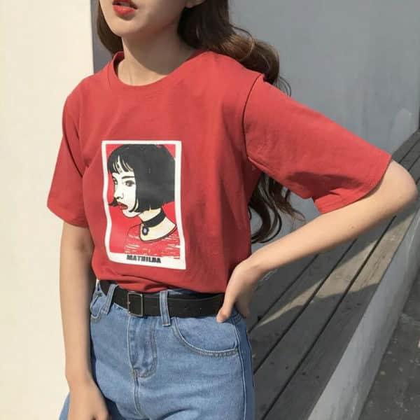 Mathilda Portrait Tee 2