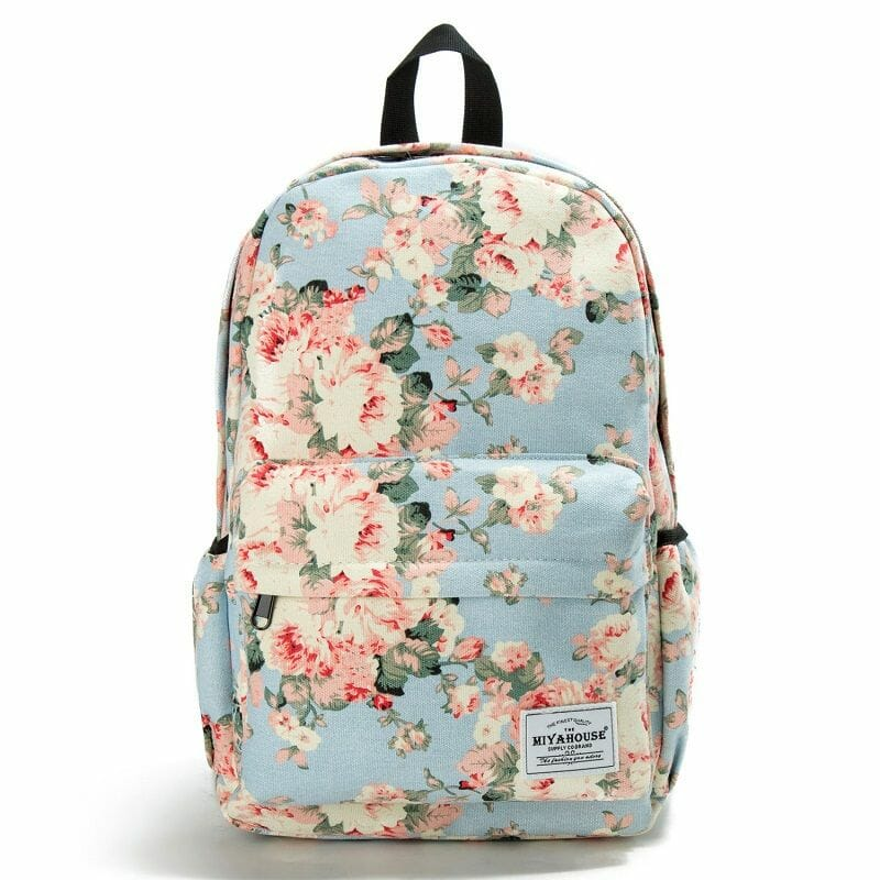 1835d0d7cd44 Floral Backpacks - Ninja Cosmico