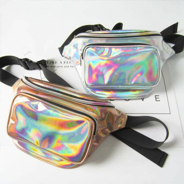 Holographic Fanny Packs
