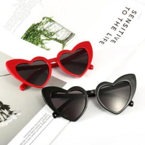 Vintage Cat Eye Heart Shaped Glasses