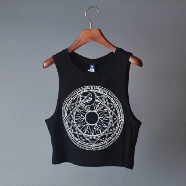 Moon & Sun Crop Top 1