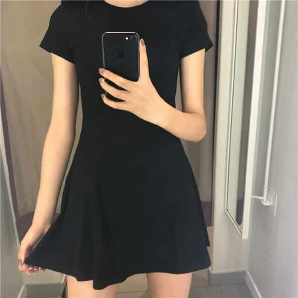 High Waist Slim Dress 1