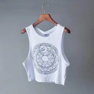 Moon & Sun Crop Top 2