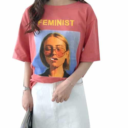 Feminist Printed Shirt