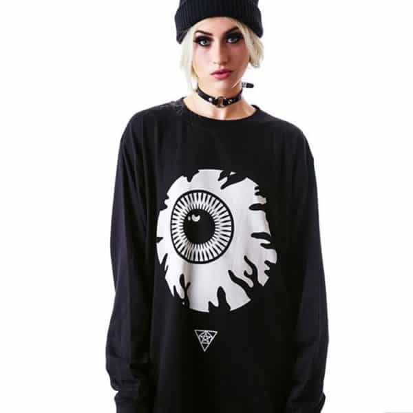Oversized Eye Sweatshirt 1