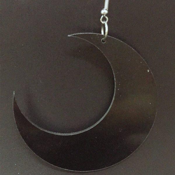 Acrylic Moon Earrings 2