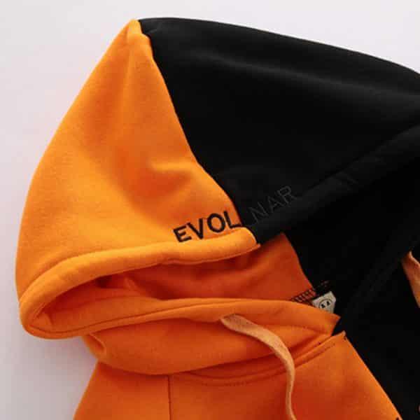 Split Colors Hoodie 3