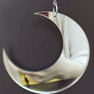 Acrylic Moon Earrings 3
