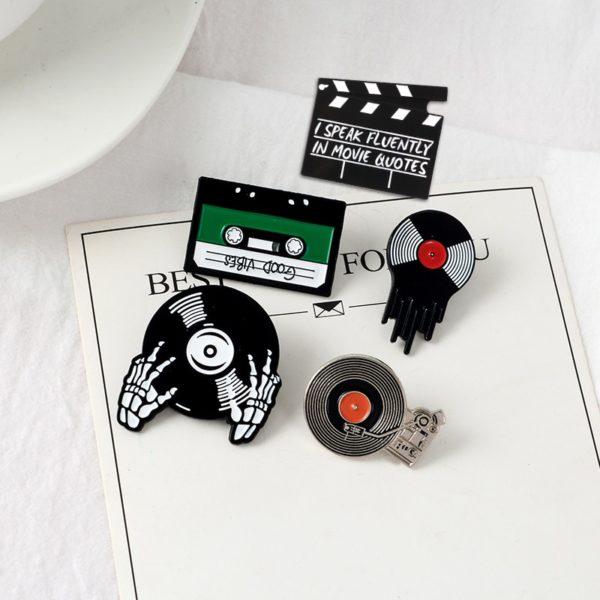 Punk Music Lovers Enamel Pins 4