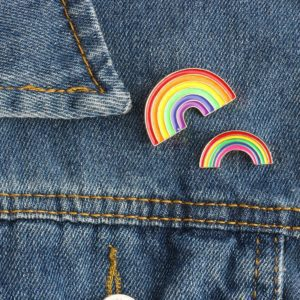 Rainbows Enamel Pins
