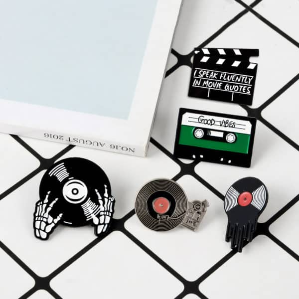 Punk Music Lovers Enamel Pins 2