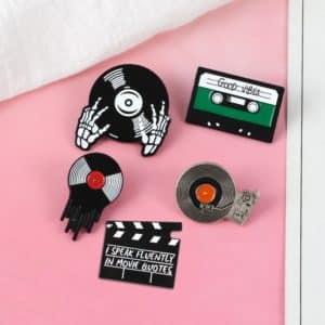 Punk Music Lovers Enamel Pins 3