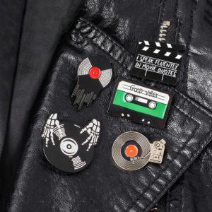 Punk Music Lovers Enamel Pins 5