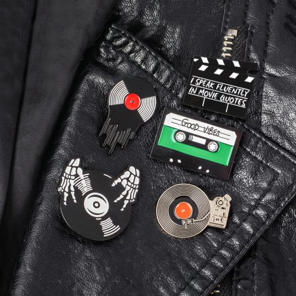 Punk Music Lovers Enamel Pins 5