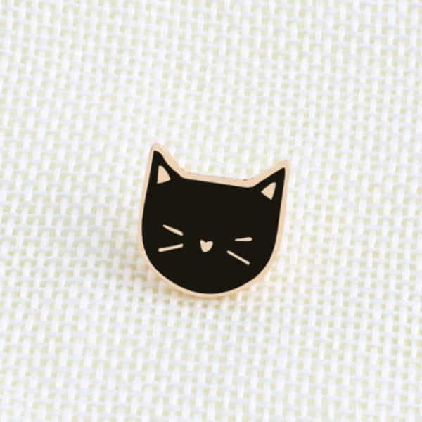Black & White Cats Pins 2