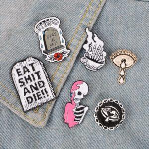 Punk Enamel Pins