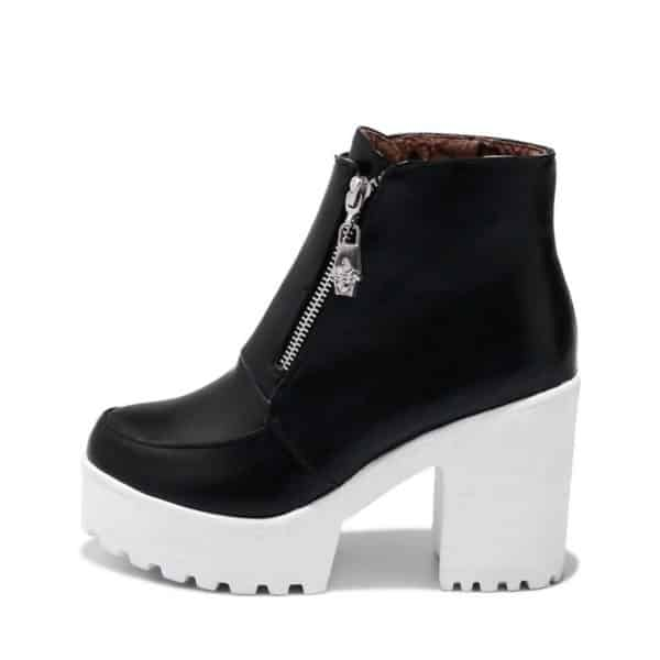 Platform Ankle Boots 1