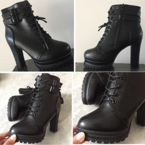 High Heels Zipper Ankle Boots 5