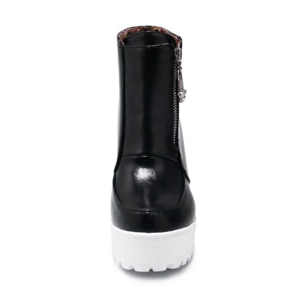 Platform Ankle Boots 4