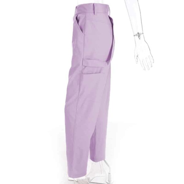 High Waist Pastel Trousers 4