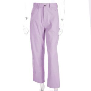 High Waist Pastel Trousers 2