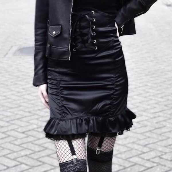 Bodycon Ruffle Skirt 1