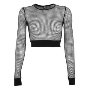 Hollow Out Mesh Top 2