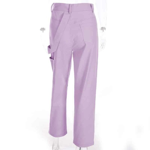 High Waist Pastel Trousers 3