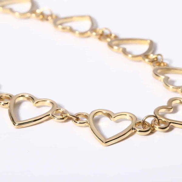 Hearts Chain Choker 4