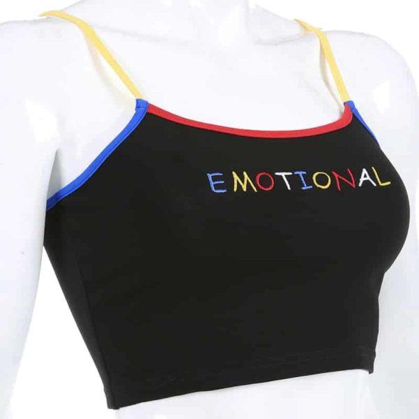 Emotional Crop Top 3