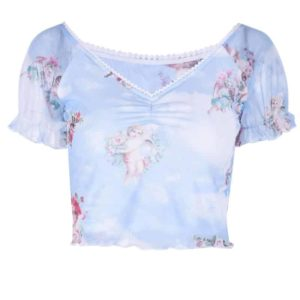 Angel Cupid Ruffle Camisole