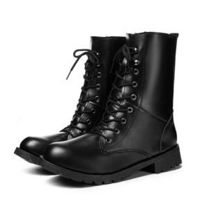 Motorcycle Ankle Boots Full