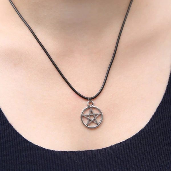 Pentagram Pendant Necklace 2