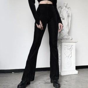 Goth Corduroy Pants